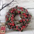 Frosted Berry Wreath 25CM
